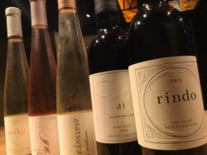 鉄板焼きが楽しめる円居品川では、新ヴィンテージワインをご用意してます