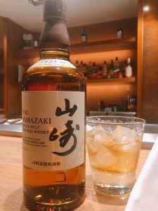 品川の鉄板焼き【円居】のウイスキー
