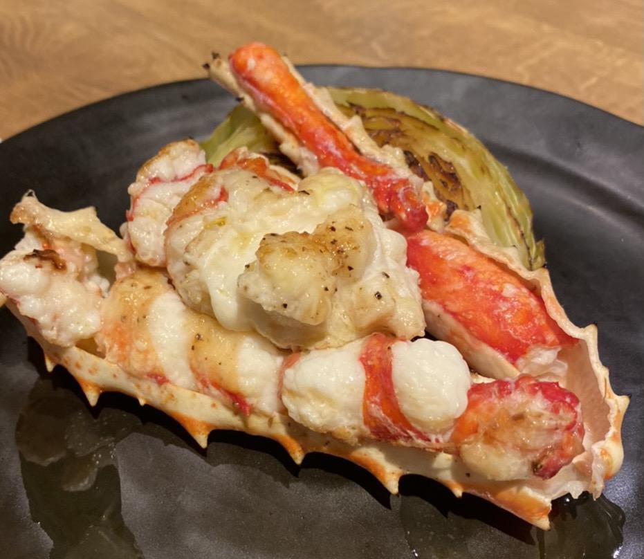 【円居 -MADOy- 品川高輪】で味わえる海鮮の鉄板焼き